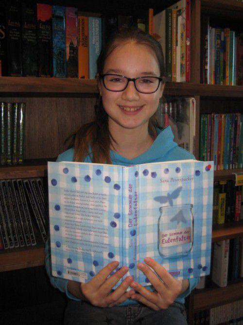 Svenja Orlich, 12 Jahre.