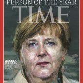 Auszeichnung für Merkel