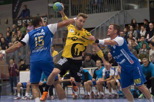 Tobias Warvne erzielte bei seinem Comeback sieben Tore.