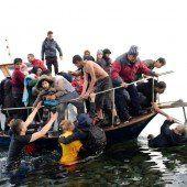 Eine Million Menschen nach Europa geflüchtet