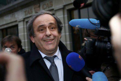 UEFA-Chef Michel Platini.