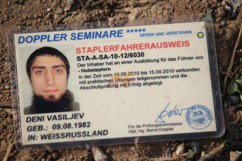 Vasiljev war in Österreich ein unbeschriebenes Blatt.