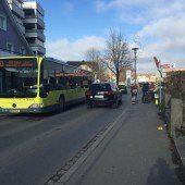 Problematische Bushaltestelle