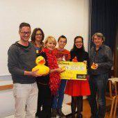 Charity-Enten erschwammen 14.800 Euro