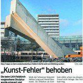 Treppenskulptur beim Krankenhaus Feldkirch