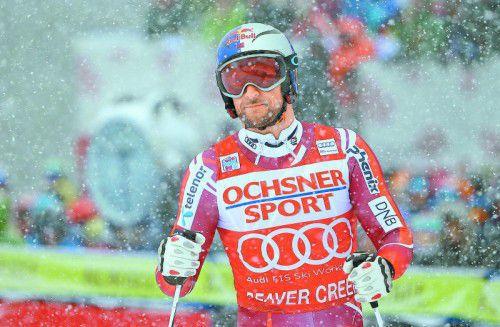Von einer Krankheit gestoppt: Aksel Lund Svindal.