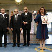 Friedensnobelpreis geht an Quartett