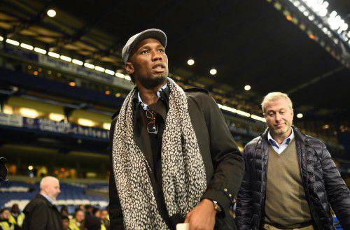 Vor Rückkehr: Didier Drogba.