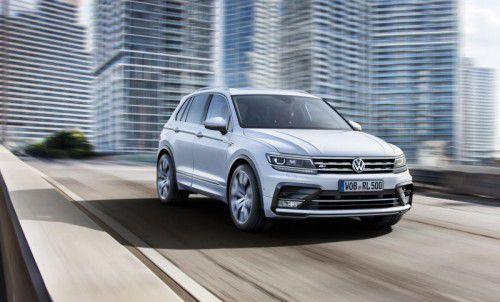 VW Tiguan: Der Modellwechsel steht an. Neu sind schärferer Gesichtsschnitt und erweiterte Talente.