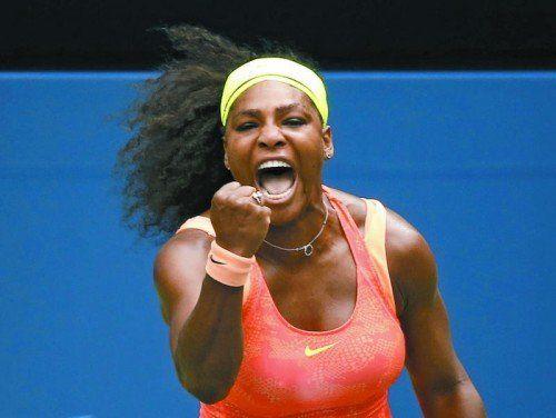 Zum siebten Mal die Beste: Serena Williams.