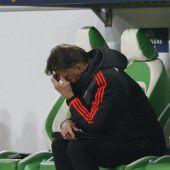 Viel Kritik an Coach van Gaal