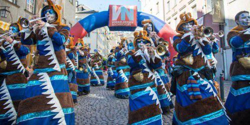 Am Wochenende werden in der Montfortstadt rund 36 Musikgruppen zum Monsterkonzert, knapp 80 Gruppen zum Umzug und an die 20.000 Besucher erwartet.