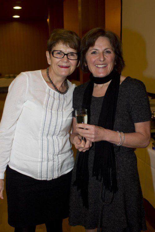 Anni Kresser (l.) und Margit Sigg.
