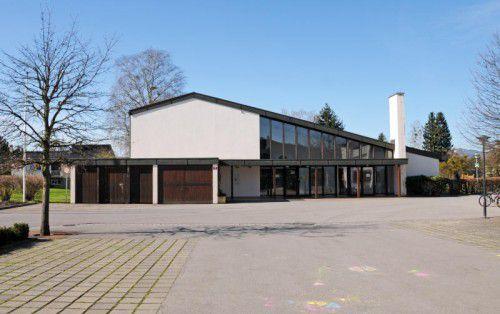 Anstelle der einstigen Sonderschule soll die neue Halle entstehen.