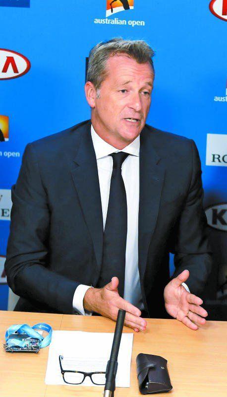 ATP-Chef Chris Kermode.