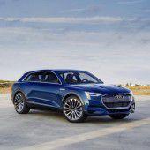Audi mit großen Elektro-Plänen