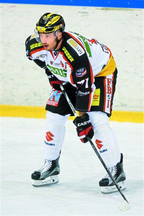 Auszeit für VEU-Stürmer Michael Novak.