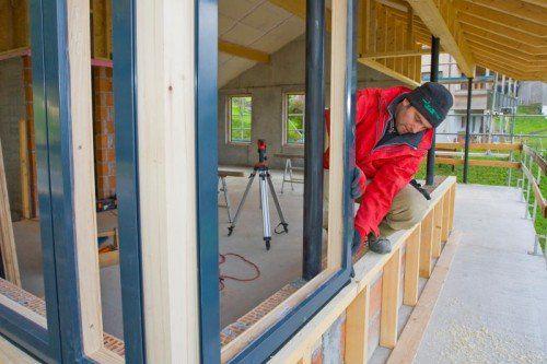 Für einige Vorarlberger Hausbauer mit Frankenkrediten könnte sich ein Gang zum Anwalt lohnen. VN/Steurer