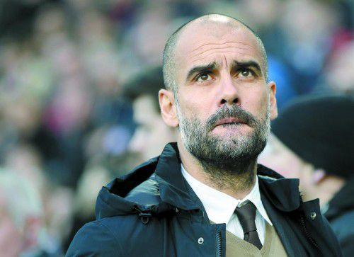 Bayern-Coach Pep Guardiola verlangt mehr Professionalität.