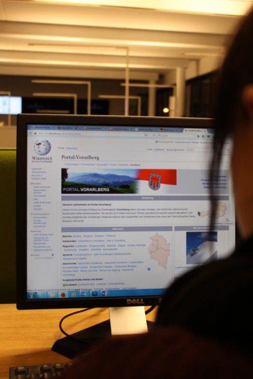Beim Wikipedia-Portal Vorarlberg findet man zahlreiche Informationen über das Ländle.
