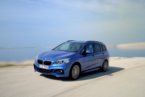 BMW 2er Gran Tourer: Auf den fünfsitzigen Zweier folgte im Vorjahr die bis zu siebenplätzige Version.