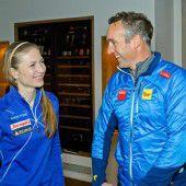 Biathlon-Titeljagd in Schoppernau