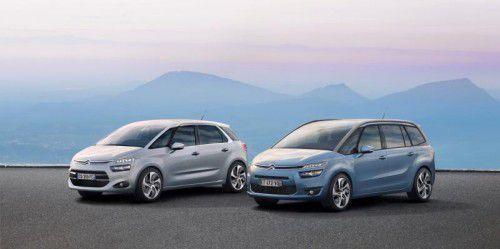 Citroën C4 Picasso: bietet in der Lang- und in der Kurz-Version gleichermaßen hohen Komfort.