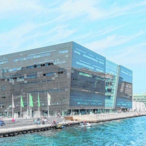 Das Gebäude soll das Wasser mit der Stadt verbinden.