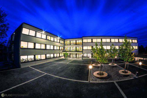 Das neue moderne Schulgebäude der HAK/HAS Lustenau.