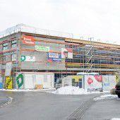 Innenausbau beim neuen Pflegeheim