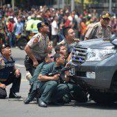 IS-Anschlag erschüttert Indonesiens Hauptstadt