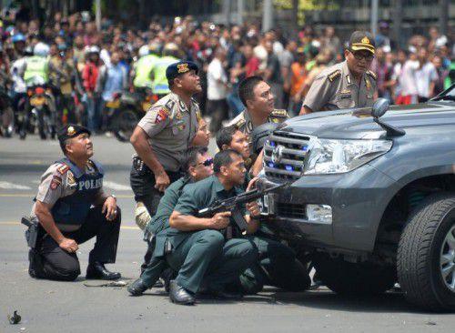 Der Einsatz der Sicherheitskräfte gegen die Terroristen dauerte mehrere Stunden lang.