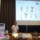 Vortrag über Energiesparen