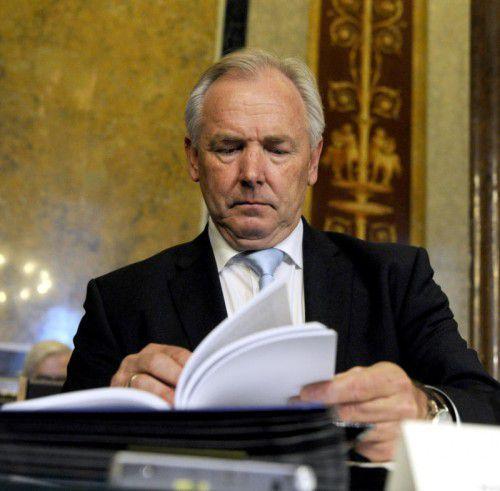 Der frühere Kärnter Landeschef im Hypo-U-Ausschuss.