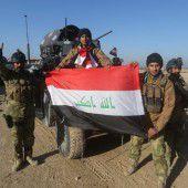 IS verliert immer mehr Gebiete