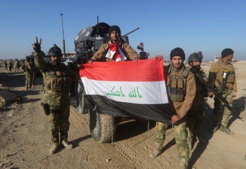 Der Irak nahm zuletzt die Stadt Ramadi vom IS ein.