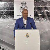 Klub-Ikone Zidane übernimmt