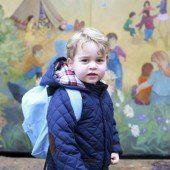 Prinz Georges erster Tag im Kindergarten