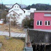 Bach in Nüziders wird für neues Bauprojekt verlegt