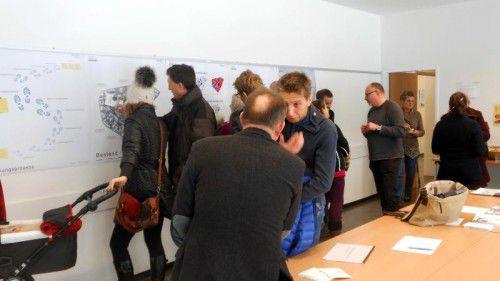 Die Bevölkerung zeigte großes Interesse an den ersten Ergebnissen des Bürgerbeteiligungverfahrens.