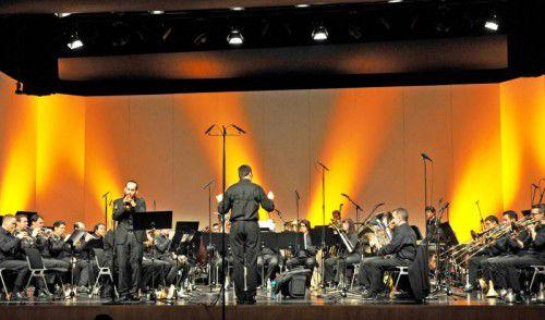 """Die Brassband Vorarlberg spielt unter dem Motto """"Extreme Make-Over"""" zwei Konzerte mich hochkarätiger Orchesterbesetzung."""
