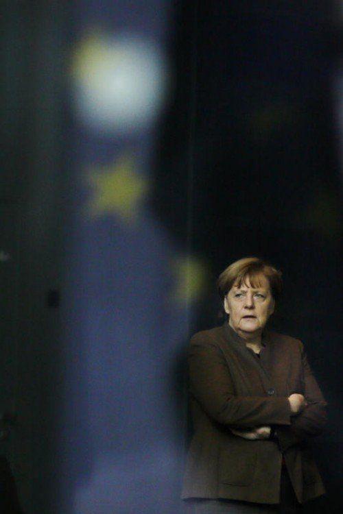 Die deutsche Bundeskanzlerin sieht sich mit Kritik aus den eigenen Reihen konfrontiert.