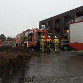 Waschmaschine führte zu Feuerwehreinsatz