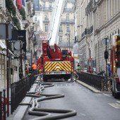 Großbrand im Pariser Luxushotel Ritz
