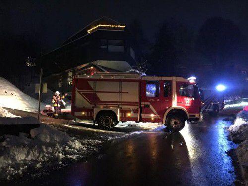Die Feuerwehren Schwarzach und Wolfurt löschten den Brand.