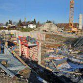 VS Unterdorf: Untergeschoß im Entstehen