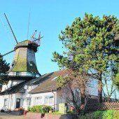 Windmühle als Landmarke