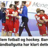 Norwegens Regierung im Handball-Rausch