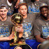 Thompson und Curry waren die Sieggaranten