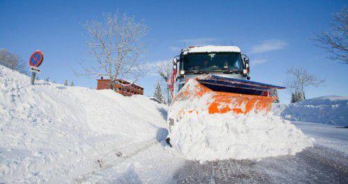 Die Winterdienste in Vorarlberg haben die Lage derzeit nach eigener Ansicht im Griff.